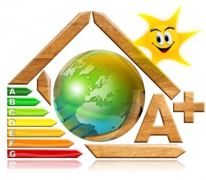 Energy saving - wood and earth